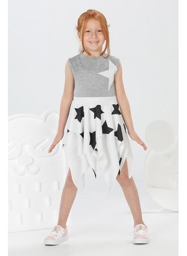 Lupiakids Star Simli Kız Elbise Renkli